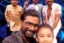 Super Dancer Chapter 4: Remo D'souza makes contestant Sprihaa's day by clicking the most memorable SELFIE with her on the show