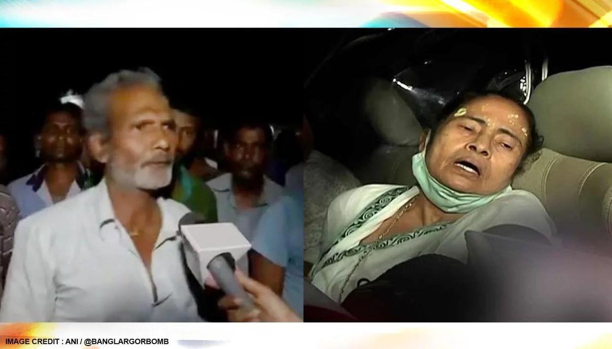 Nandigram eyewitnesses claim 'No one pushed CM' as Mamata alleges attack & leg injury
