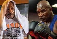 Evander Holyfield calls out Mike Tyson for mega trilogy bout by sharing new training clip