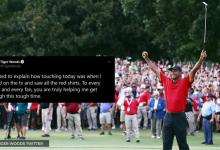 Tiger Woods thanks 'Every Golfer And Fan' for helping him recover from horrific car crash