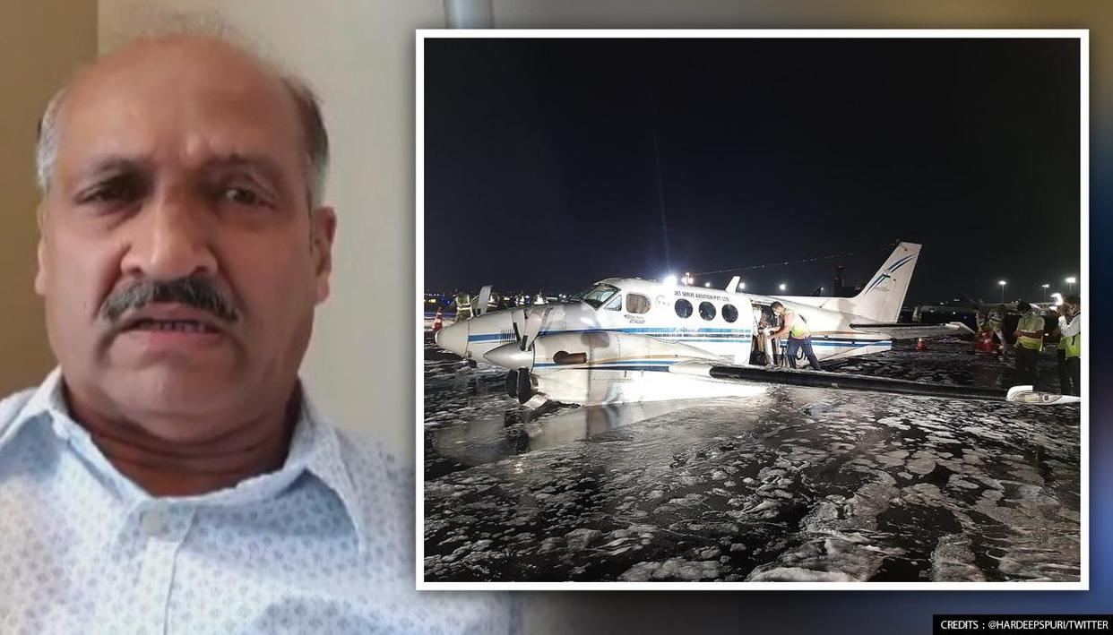 Captain who 'belly landed' Air ambulance shares death-defying heroics; reveals what he did