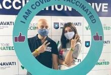 काजल अग्रवाल ने COVID वैक्सीन की पहली जैब ली;  टीकाकरण केंद्र पर अनुपम खेर में धक्कामुक्की