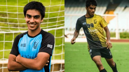 FC Benguluru United's Shreyas Ketkar makes his way to U-19 Indian team set-up