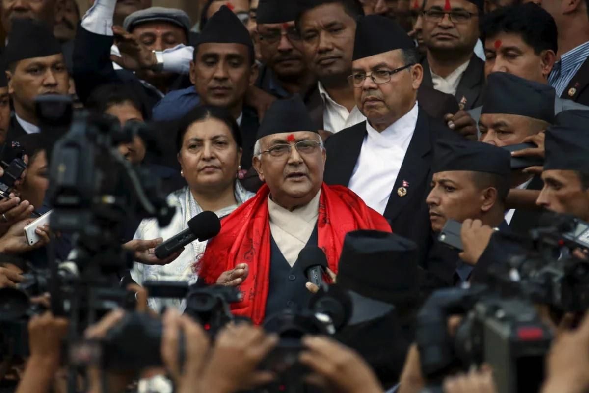 केपी शर्मा ओली ने ली नेपाल के प्रधानमंत्री के रूप में शपथ;  पिछली कैबिनेट को बरकरार रखता है