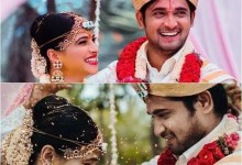 Kannada TV actors Chandan Kumar and Kavitha Gowda tie the knot in a private ceremony – view pics