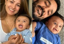 These 5 adorable moments of Anita Hassanandani and Rohit Reddy with their baby son Aaravv are too cute to handle – view pics