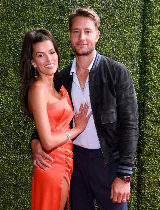 यह हमलोग हैं स्टार जस्टिन हार्टले और सोफिया पर्नास विवाहित हैं;  एमटीवी मूवी एंड टीवी अवार्ड्स में जोड़े ने अपनी शादी की अंगूठियां दिखायी