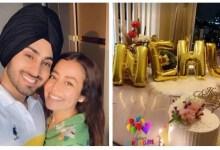 रोहनप्रीत सिंह ने नेहा कक्कड़ को उनके जन्मदिन पर एक रोमांटिक नोट के साथ शुभकामनाएं दीं;  मिडनाइट सेलिब्रेशन फोटो शेयर करता है