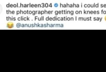 Indian women's all-rounder Harleen Deol reveals how Virat Kohli clicked Anushka Sharma's picture in Southampton