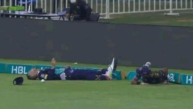 Faf du Plessis hospitalised after collison with Mohammad Hasnain during PSL match