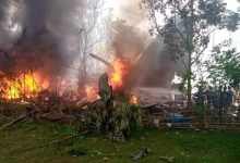 85 लोगों को ले जा रहा फिलीपीन सैन्य विमान दुर्घटनाग्रस्त, अब तक 40 बचाए गए: सशस्त्र बल प्रमुख