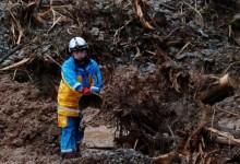 बचाव दल भूस्खलन प्रभावित जापान टाउन में बचे लोगों की तलाश कर रहे हैं