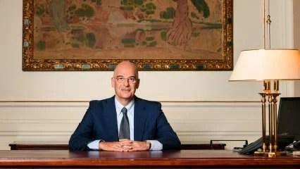 Greek FM Nikos Dendias says India, Greece, UAE to establish trilateral dialogue, hits out Turkey