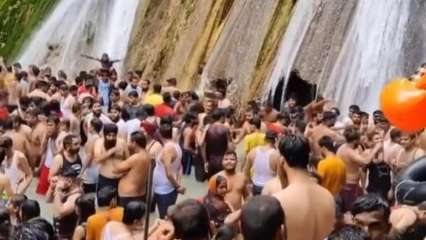 Uttarakhand orders new restrictions after tourists throng Mussoorie's Kempty Falls