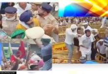 Haryana: Massive clashes break out between farmers, police amid cabinet ministers meeting