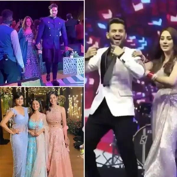 Rahul Vaidya-Disha Parmar wedding reception: Aly Goni-Jasmin Bhasin grab eyeballs, Shweta Tiwari sets the dance floor on fire and other kickass moments — watch video