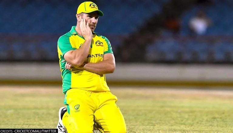 Australia Skipper Aaron Finch suffers knee participation in ODI series doubtful