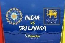 India vs Sri Lanka 2nd ODI Live Score Streaming: IND – 57/2 (9.2), मनीष पांडे ने जड़ा चौका, भारत 50 के पार