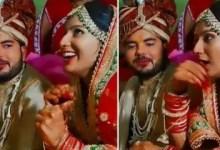 Bride makes fun of groom at mandap, sings Govinda's song 'Hadh Kar Di Aapne'