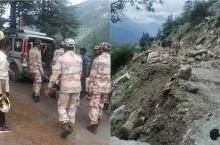 हिमाचल प्रदेश के किन्नौर में पहाड़ों से गिरी चट्टानों ने बरपाया कहर, ब्रिज ध्वस्त होने से 9 की मौत