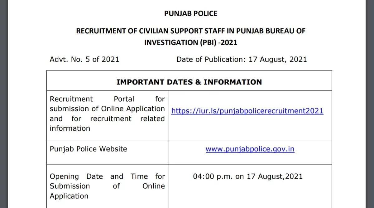 Police Recruitment 2021: पुलिस विभाग में निकली नौकरी, इस आधार पर होगा चयन