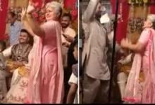 Dulhan ki Saas ka dhaansu dance! Mother in law dances on stage during wedding