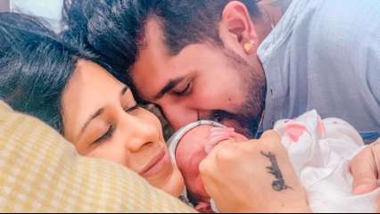 Kishwer Merchant-Suyyash Rai blessed with a baby boy, announce news with an adorable photo