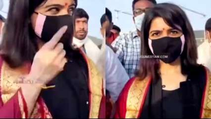 'Don't you have any sense?': Samantha Prabhu reacts to reporter asking her about separation with Naga Chaitanya