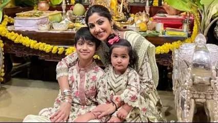 Viaan Raj Kundra shares photo with mom Shilpa Shetty, sister Samisha after dad Raj Kundra gets bail in porn case