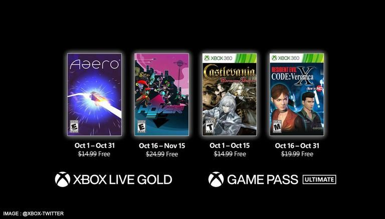 Microsoft releases Xbox Games with Gold for October: Aaero, Hover and more; read details