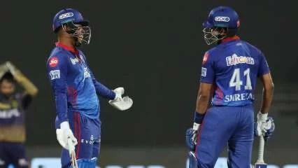 IPL 2021: Shreyas Iyer-Shimron Hetmyer's late blows resurrect DC's dodgy innings against KKR