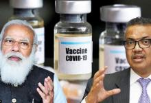 WHO Chief lauds PM Modi for achieving vaccine equity targets as India cross 100 cr doses
