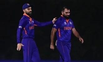 भारत की पाकिस्तान से हार के बाद मोहम्मद शमी को ऑनलाइन दुर्व्यवहार का सामना करना पड़ा;  क्रिकेटरों की प्रतिक्रिया