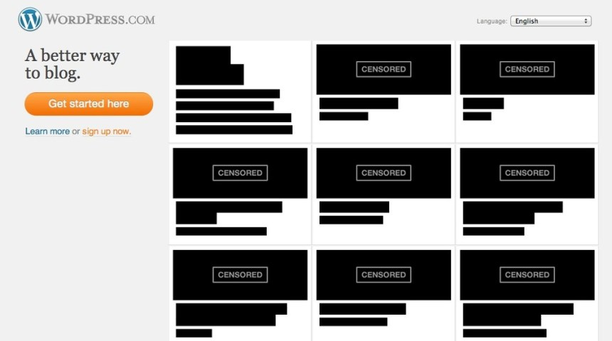 wordpress sopa blackout