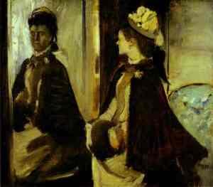 Madame Jeantaud in the Mirror