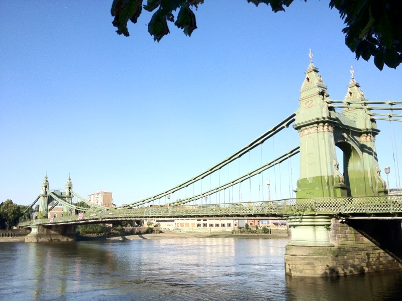 Thames Hammersmith Bridge