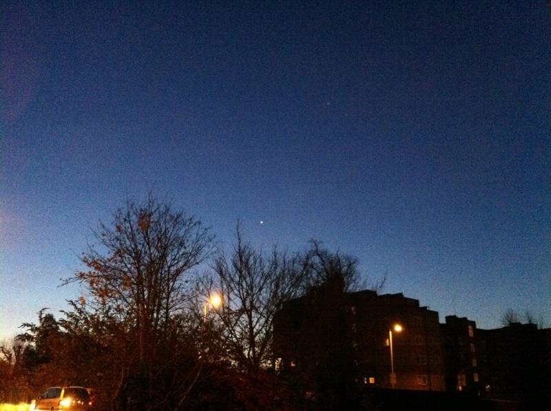 London clear sky
