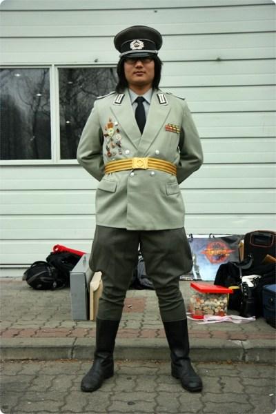 예비군 코스프레