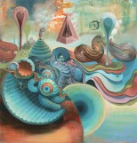 organic art trippy wallpaper