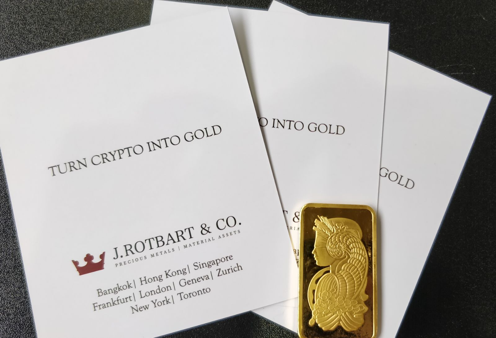 Trading Crypto, Gold and Precious Metals