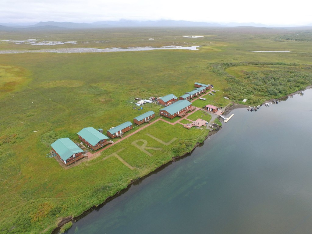 Togiak aerial view