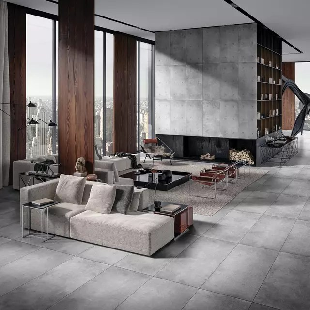 china cement look tile manufacturer