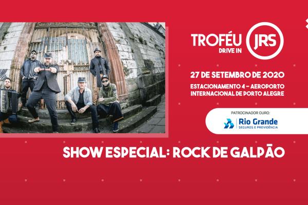 Rock de Galpão animará participantes do Troféu JRS Drive In