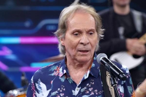 O cantor e compositor, Beto Guedes / Reprodução/TV Globo