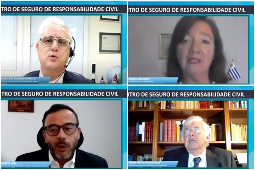Última sessão do II Encontro de Seguro de Responsabilidade Civil da AIDA Brasil aborda Experiência internacional / Divulgação/Oficina do Texto