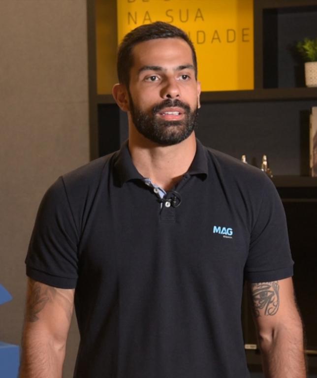 Rodrigo Cunha é gerente de Desenvolvimento de Produtos da MAG Seguros / Divulgação