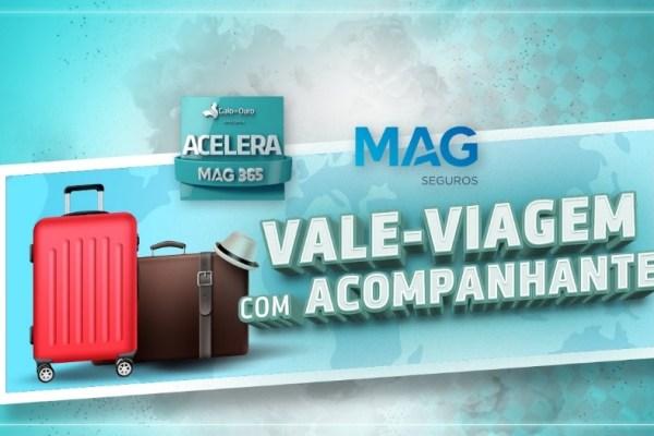 MAG Seguros lança campanha Acelera 2021 para premiar corretores e funcionários de vendas