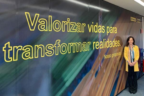 Eveline Susin é a nova presidente da Fundação Banco do Brasil / Divulgação