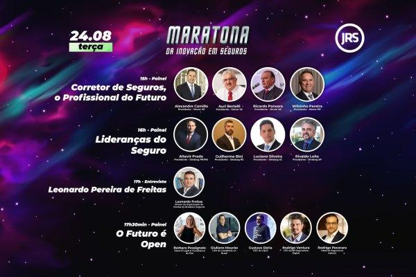 Sindicatos dos Corretores, das Seguradoras, Bradesco Seguros e Insurtechs são destaque no segundo dia da Maratona da Inovação em Seguros