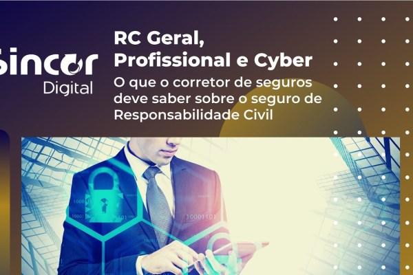 Sincor-SP aborda RC Geral, Profissional e Cyber em transmissão / Divulgação
